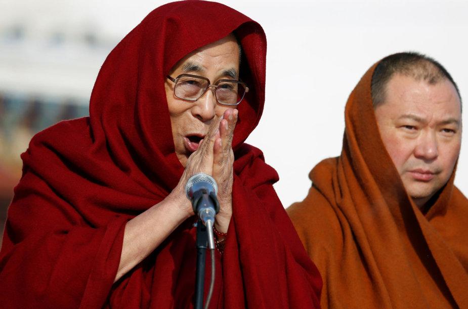 Dalai Lamos vizitas Mongolijoje