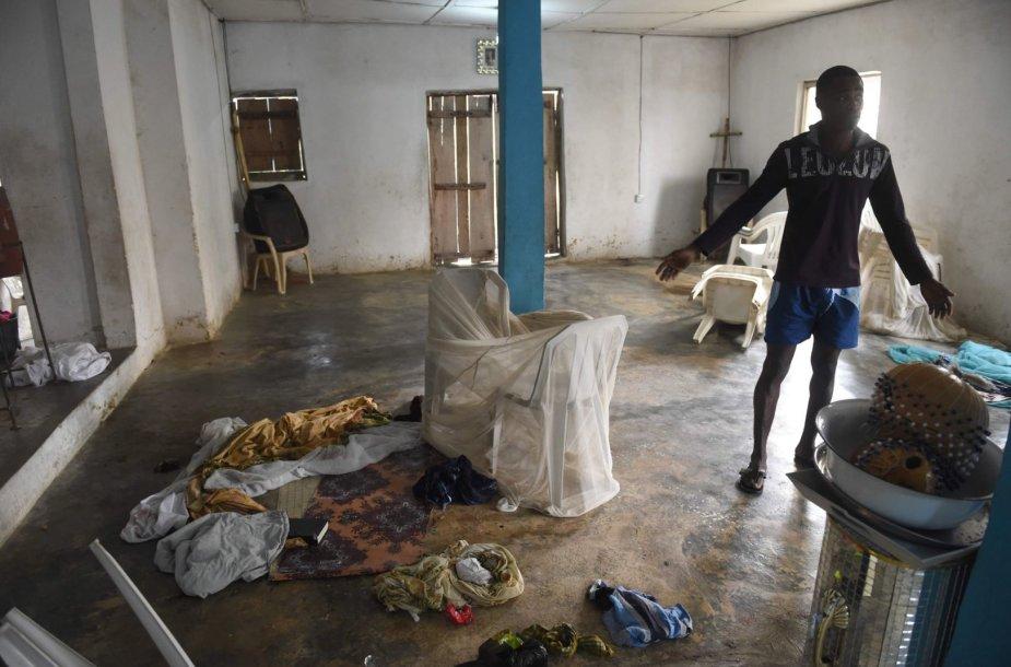 Nigerijoje vienoje katalikų bažnyčių nušauta 12 žmonių.