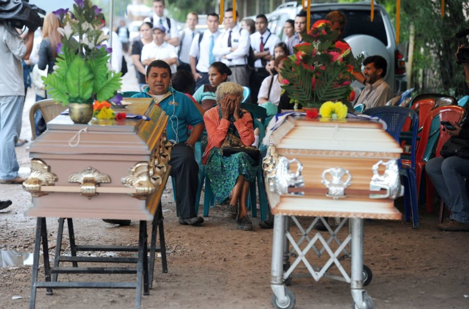 Marios Jose Alvarado Munoz laidotuvės