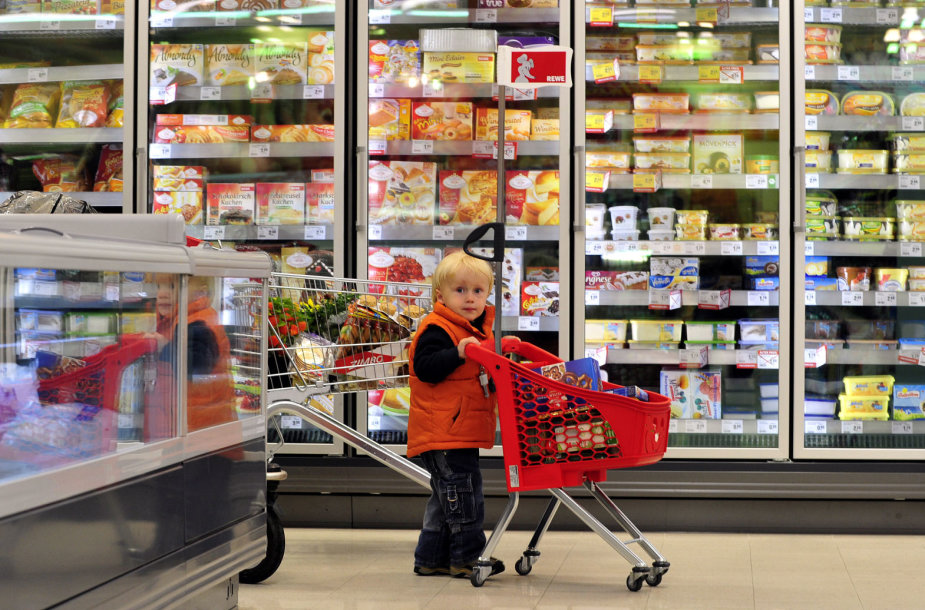 Vaikas prekybos centre