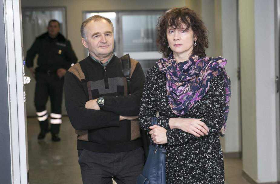 Jurgis Kairys su žmona Birute