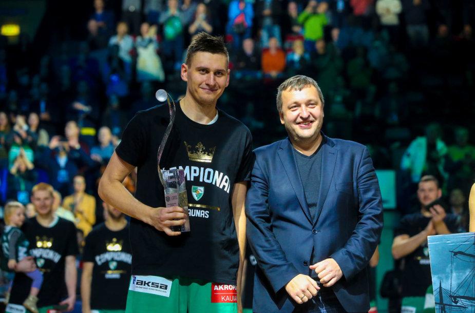 Edgaras Ulanovas ir Antanas Guoga