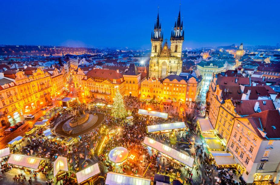 Kalėdos Prahoje