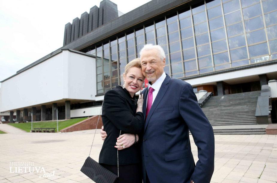 Virgilijus Noreika ir Loreta Bartusevičiūtė