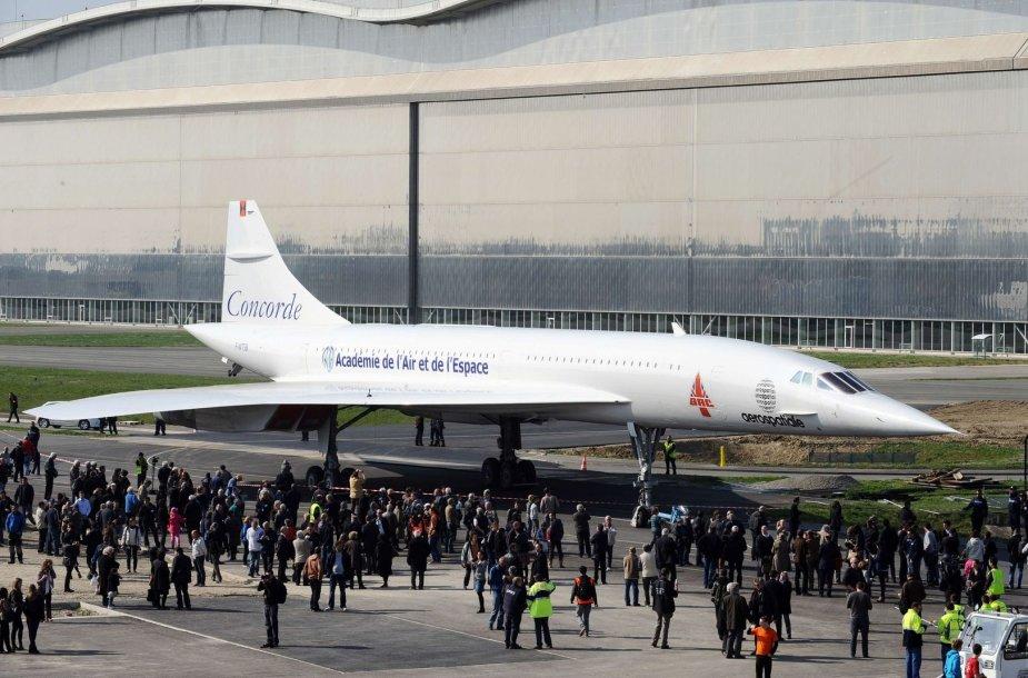 """""""Concorde MSN1"""" viršgarsinis lėktuvas"""