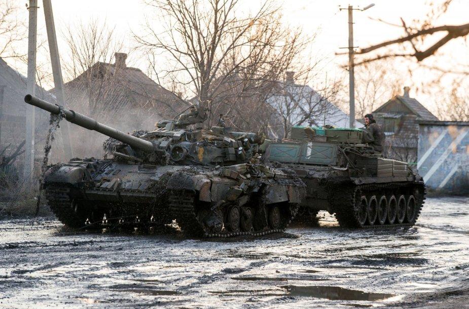 Rusijos teroristų tankas