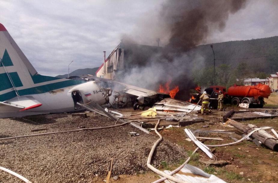 Buriatijoje sudužo lėktuvas