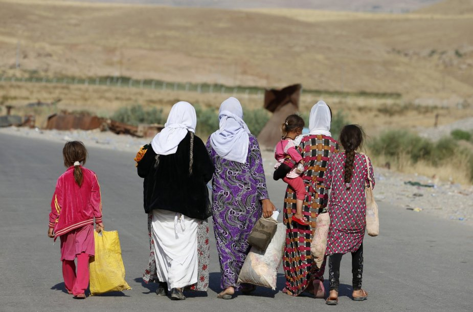 Jezidų moterys