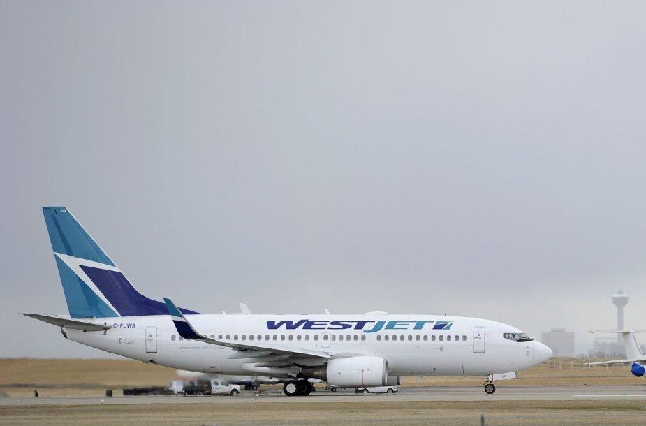 """""""WestJet"""" lėktuvas"""