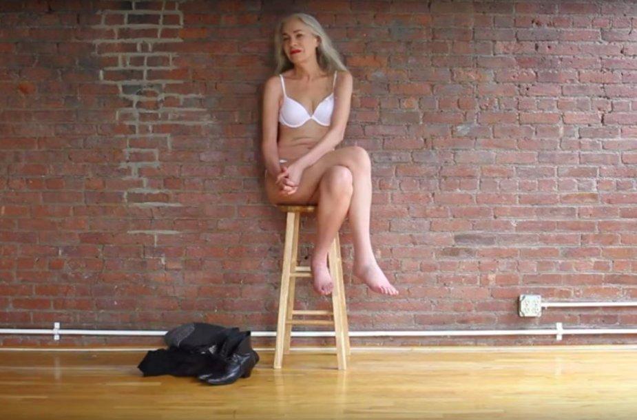 Kadras iš vaizdo įrašo. Jacky O'Shaughnessy