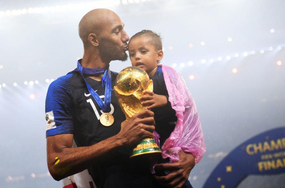 Stevenas Nzonzi šiemet laimėjo pasaulio futbolo čempionatą.