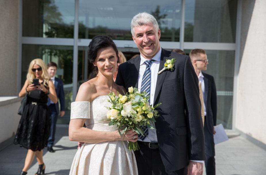 Mariaus Laurinavičiaus ir Ingridos Šidlauskienės vestuvės