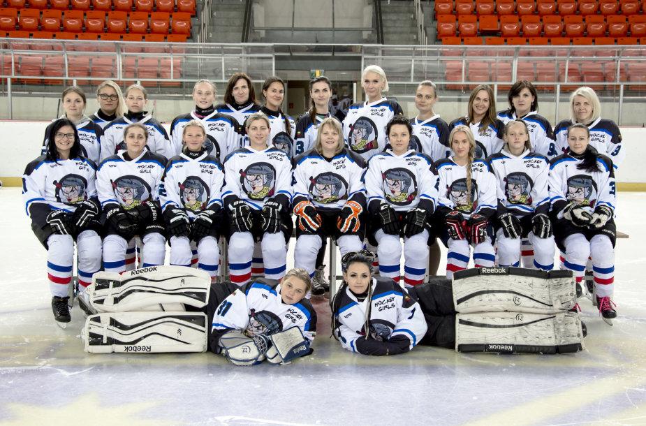 """Hockey Girls"" komanda."