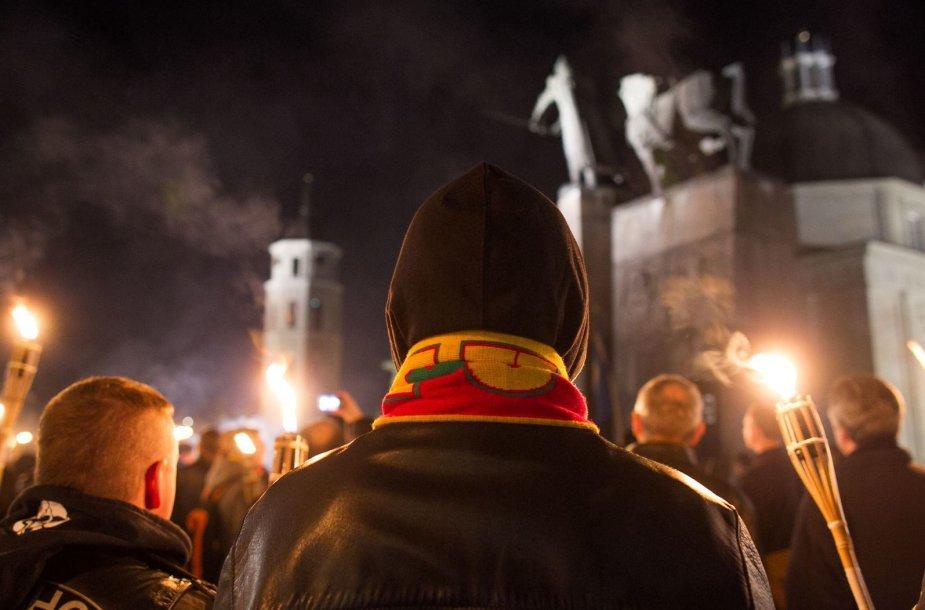 """Tautininkų eisena """"Vilnius mūsų buvo ir bus"""""""