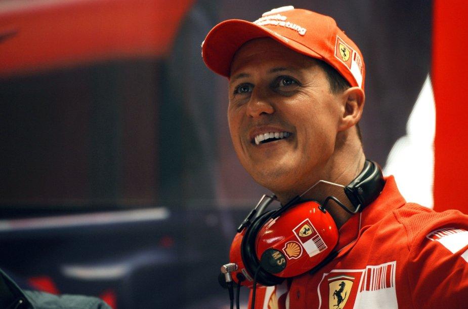 Michaelis Schumacheris 2008-ųjų rugsėjį