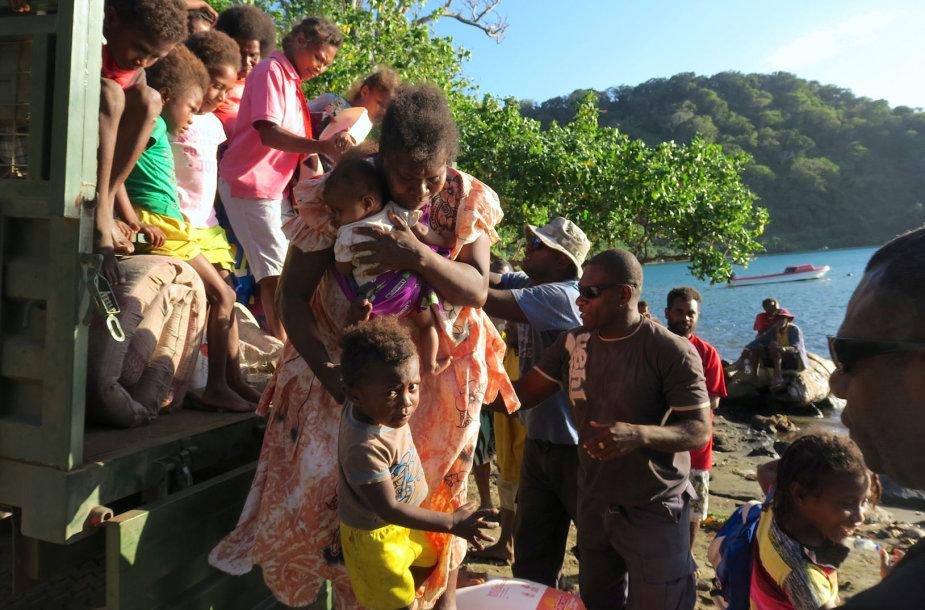 Evakuacija Vanuatu