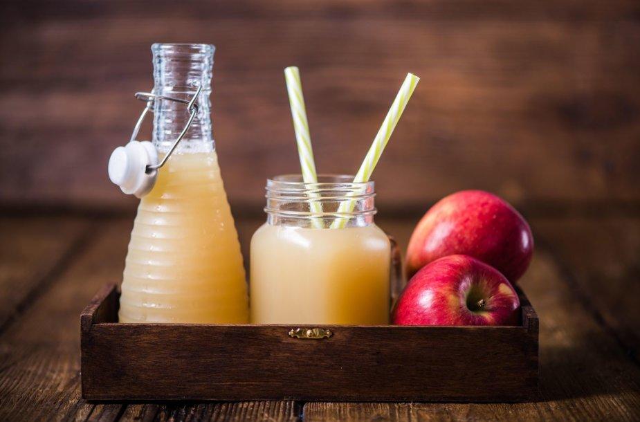 Šaltai spaustos obuolių sultys