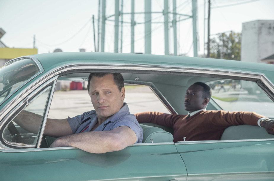 "Viggo Mortensenas ir Mahershala Ali filme ""Žalioji knyga"""
