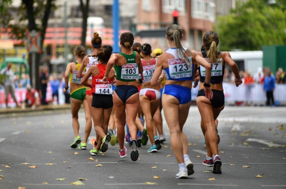 Moterų 20 km sportinio ėjimo varžybos