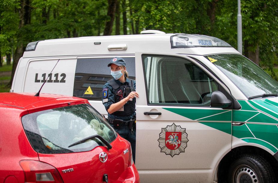Klaipėdos apskrityje pareigūnai tikrino, kaip laikomasi Kelių eismo taisyklių.