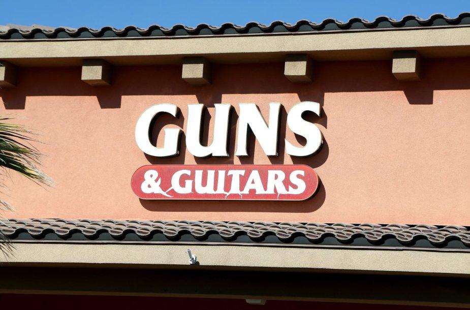 Parduotuvė, kurioje S.C.Paddockas įsigijo šaunamuosius ginklus
