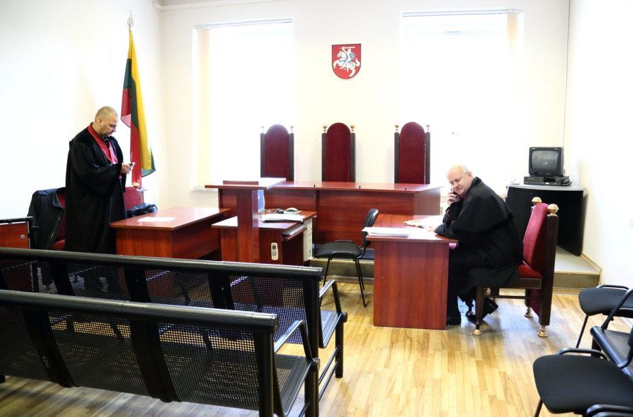 Prieš teismo posėdį Apeliaciniame teisme