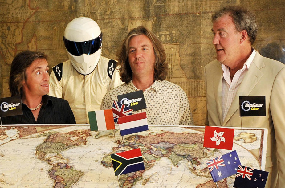 """""""Top Gear"""" komanda"""