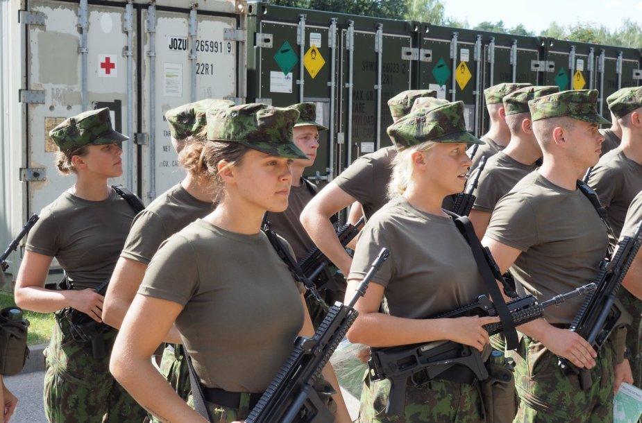 Lietuvos karo akademijos studentai