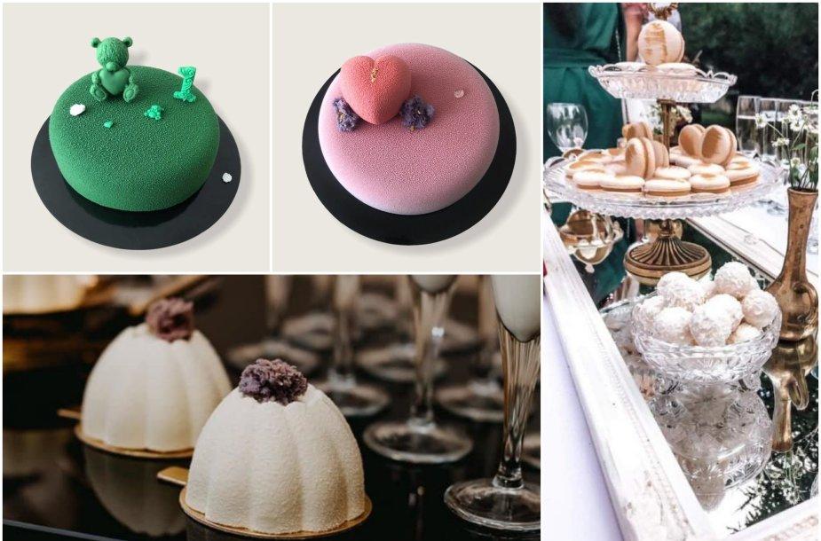 Ingos gaminami tortai ir desertai