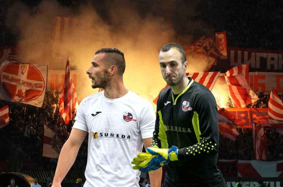 "Marijampolės ""Sūduvos"" laukia Belgrado ""Crvena Zvezda"" barjeras"