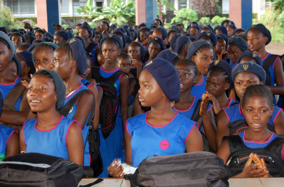 Vaikai Siera Leonėje