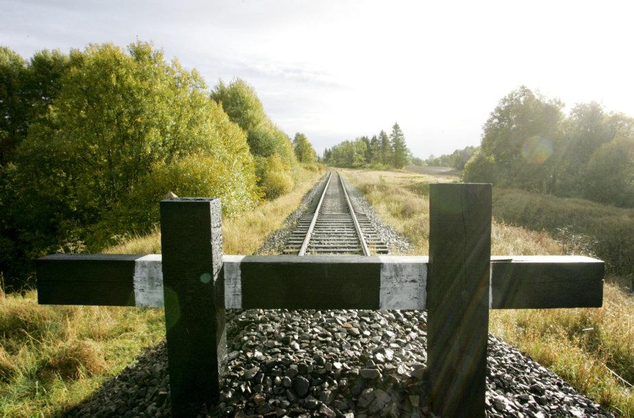 Išardytas geležinkelio Rengė-Baugainiai ruožas