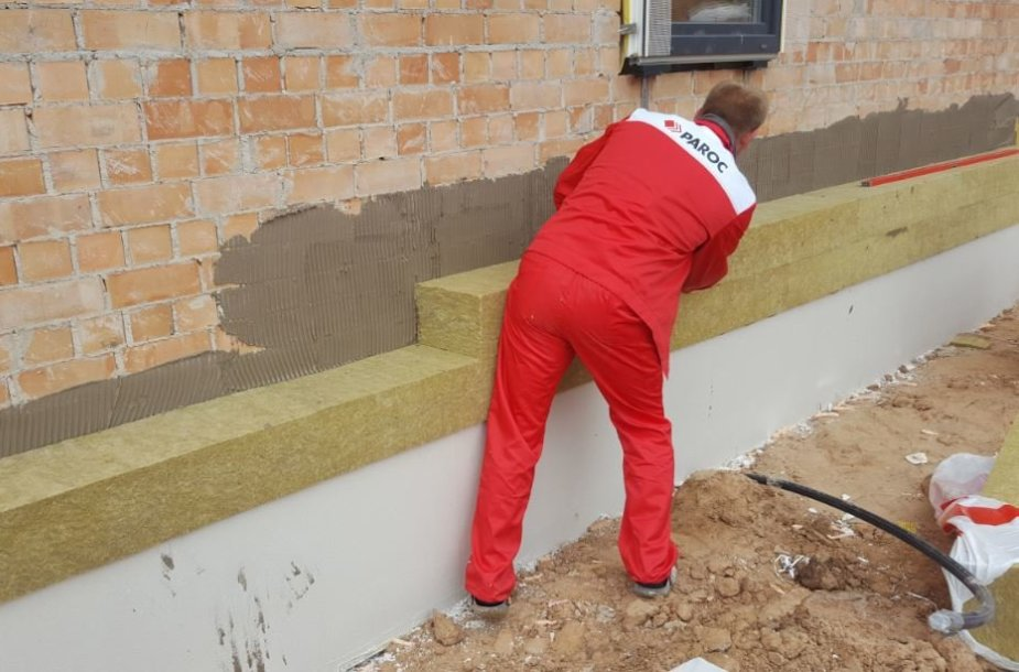 Kaip pasirinkti šilumos izoliaciją tinkuojamoms sienoms?