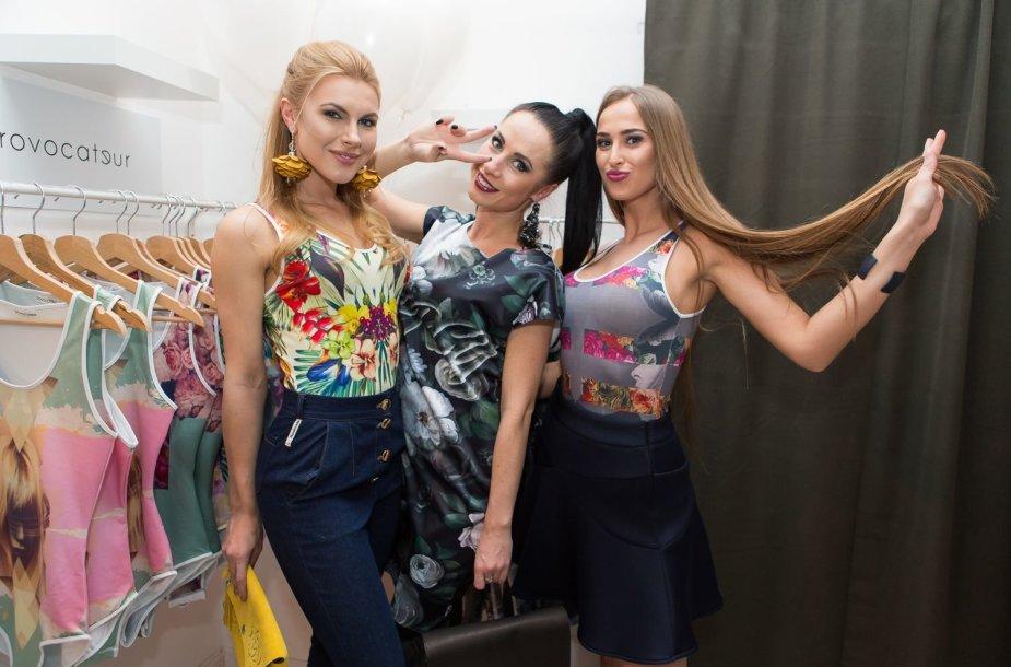 Deimantė Andriuškaitė, Ingrida Kazlauskaitė ir Viktorija Vaičaitė