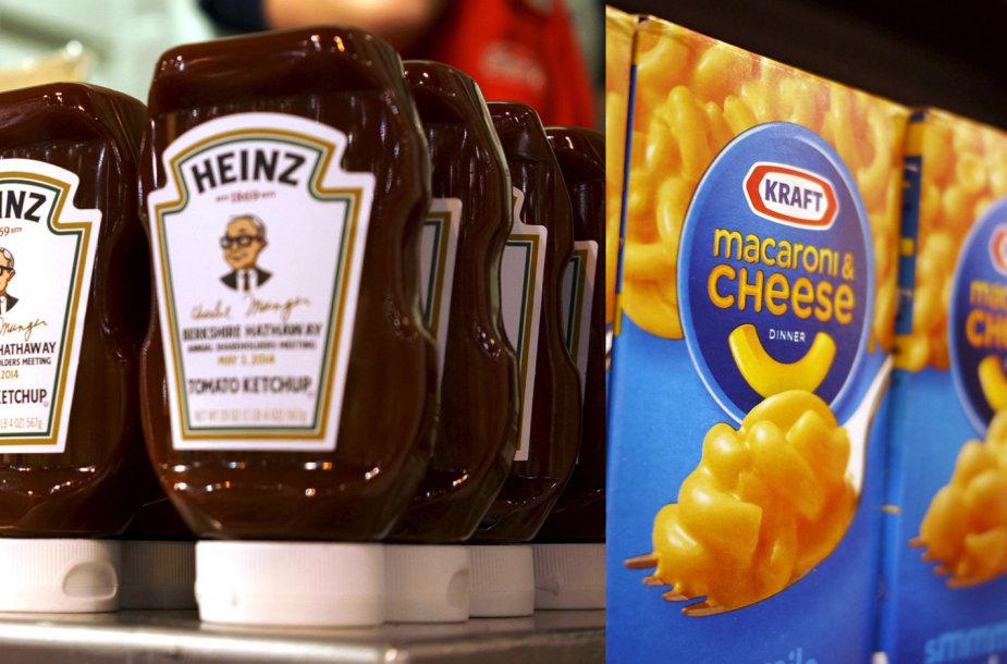 """""""Heinz"""" ir """"Kraft Foods"""""""