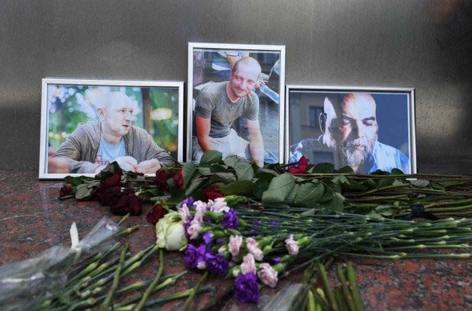 Trys rusai žurnalistai CAR buvo nužudyti 2018 metų vasarą