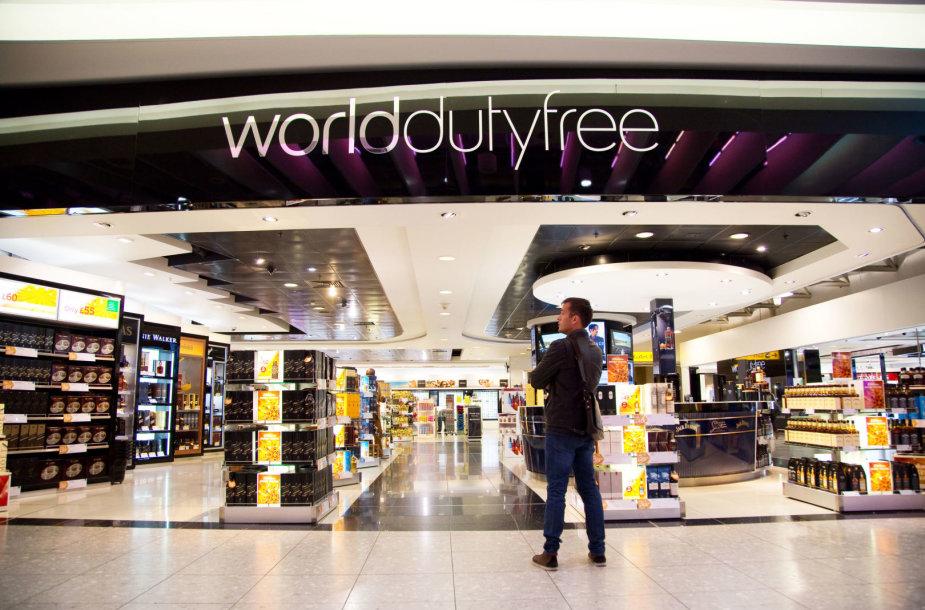 Duty free parduotuvė