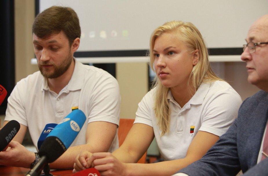 Paulius Andrijauskas ir Rūta Meilutytė