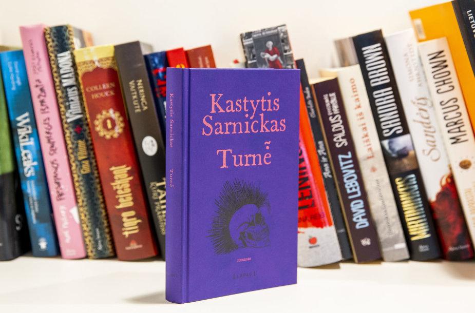 """Kastyčio Sarnicko-Kasteto knyga """"Turnė̃"""""""