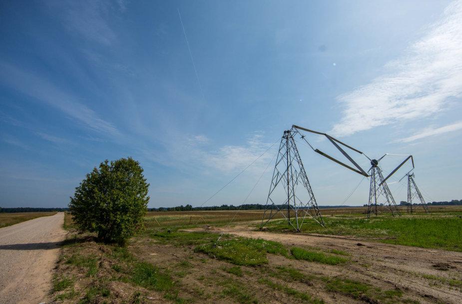 Eksperimentinė vėjo jėgainė Lazdininkuose