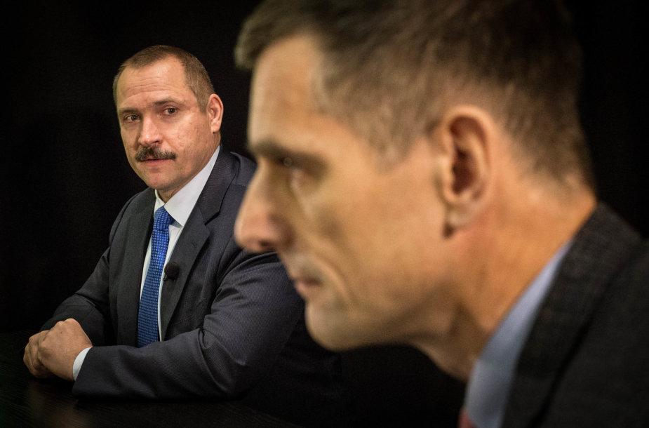 Viktoras Grabauskas ir  Gediminas Grina