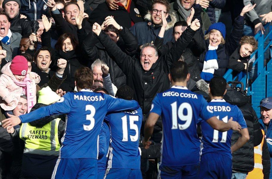 Chelsea džiaugsmas