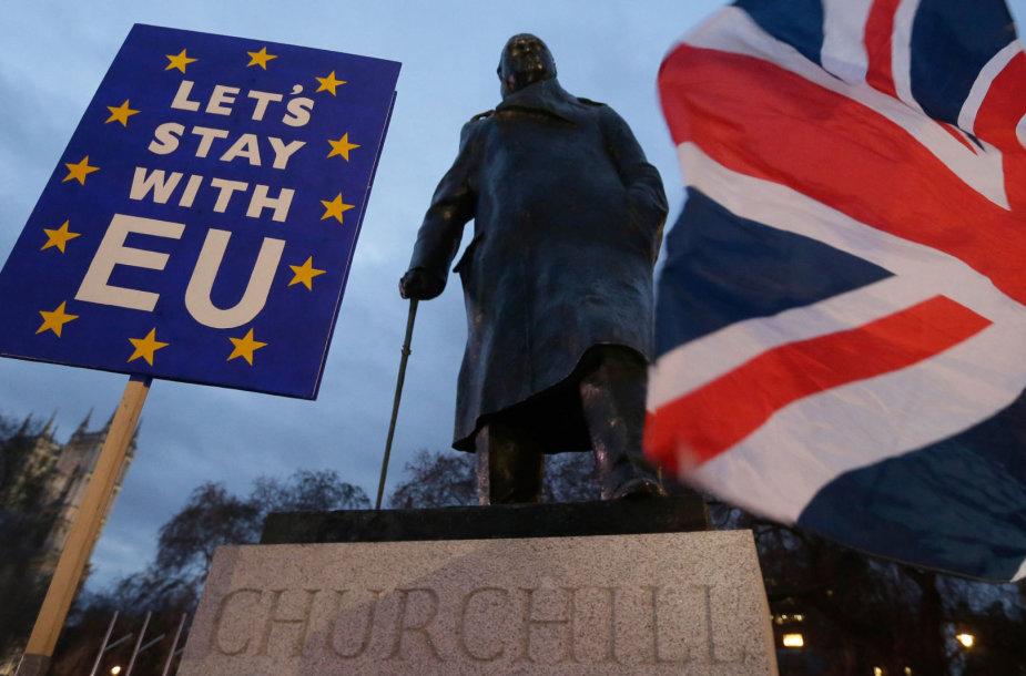 "Jungtinę Karalystę plėšo aistros dėl ""Brexit"""