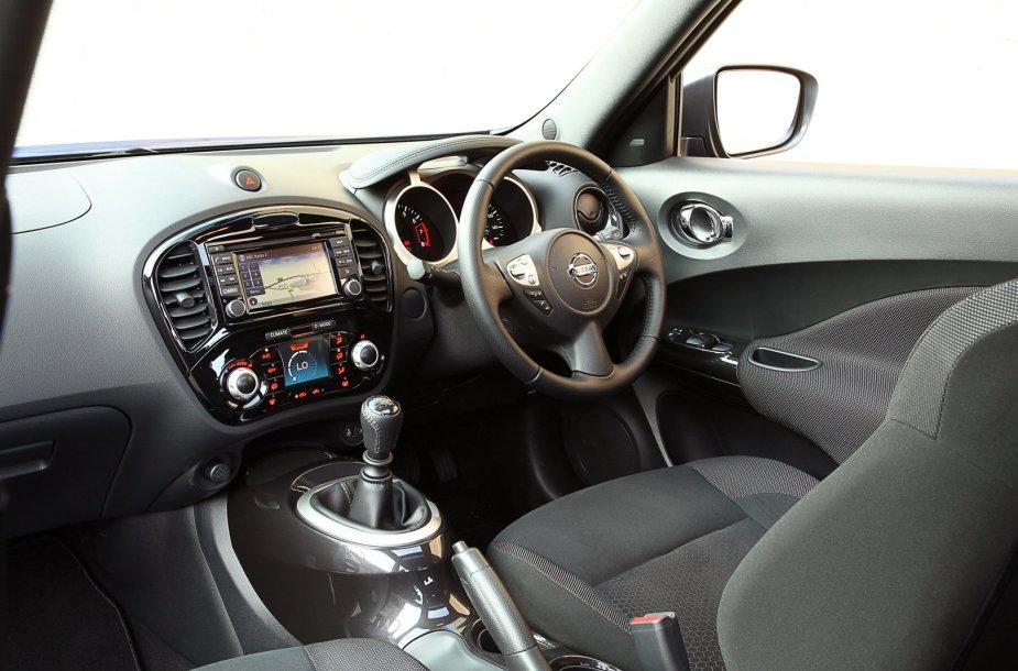 """Vairą dešinėje turintis """"Nissan Juke"""""""