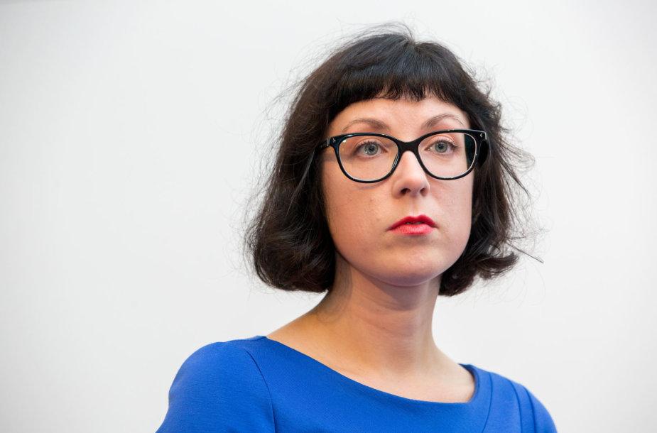 Literatūros kritikė Virginija Cibarauskė