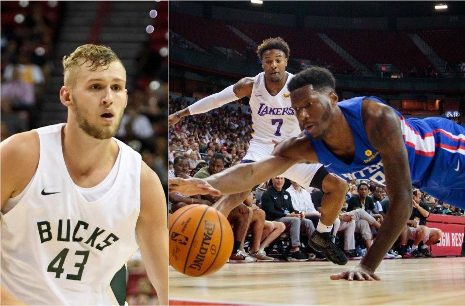 Jockas Landale'as ir Nigelis Hayesas dar turi laiko sudaryti NBA kontraktą