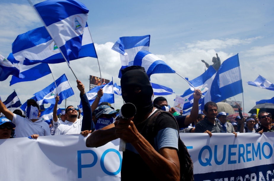 Protestas Nikaragvoje