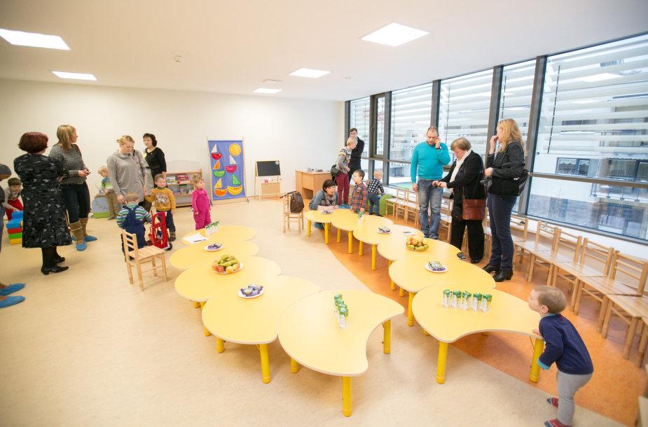 Naujas vaikų darželis Santariškėse