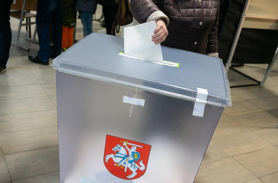 Lietuvoje prasidėjo Respublikos Prezidento rinkimai