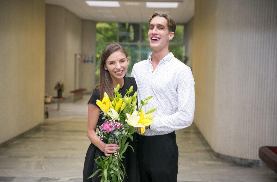 Vaidos Lisikaitės ir Liutauro Mažrimo vestuvės